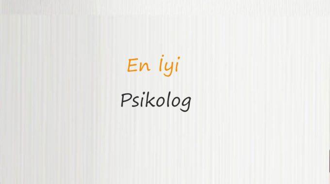 En İyi Psikolog